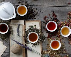 8 Herbs and Botanicals with The Founder of Art of Tea