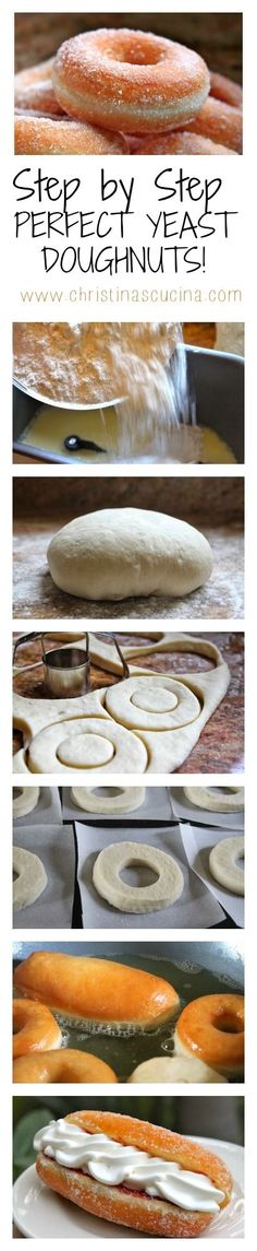Perfect Yeast Doughnuts Step by Step