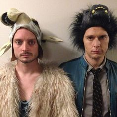 Dirk Gently's Holistic Detective Agency - Elijah Wood (Todd) and Samuel Barnett (Dirk)