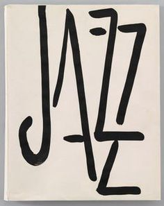 © Henri Matisse • Jazz, book cover, 1947