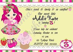 Children's Invitations by Emma's Everything, Corinth, MS