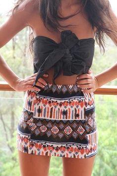 Skirt love!