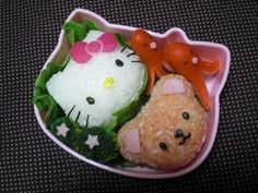 How to make Hello Kitty bento
