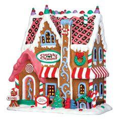 Maison en pain d'épice, collection Lemax