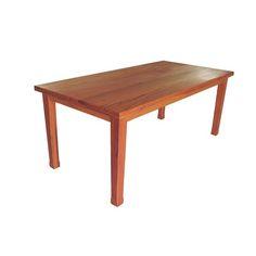 MS12 mesa de jantar rústica madeira de demolição peroba rosa