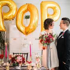 Congratulations to @poptoitweddings for their official launch! Using their powers for good the ladies of #PopToItWeddings believe everyone that not only deserves to marry the love of their life but also deserve to do it with incredible style. Find them online to learn more about their pop-up wedding offerings to the LGBTQ community. Follow them know them love them.      #detroitweddings #gaywedding #michiganweddings #gayweddings #LGBTQ #loveislove #marriageequality #lovewinsalways