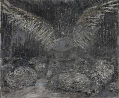 ANSELM KIEFER, San Loreto (2009-2010)  Oil, emulsion, acrylic and shellac on canvas  185 x 220 1//2 x 3 7/8 inches (470 x 560 x 10 cm)  Gagosian Gallery, New York City