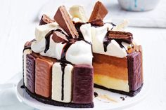 No-bake Tim Tam cheesecake