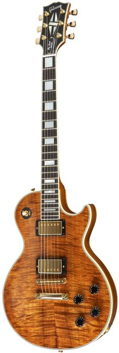 Gibson Les Paul Custom Koa Top Limited 2014