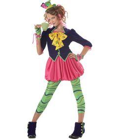 Mad Hatter Tween Girls Costume | BOOK WEEK