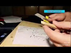 How to make arabic calligraphy pen/qalam - YouTube