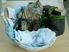 A Mom's Learnings: Montessori Activity: Dresing Basket