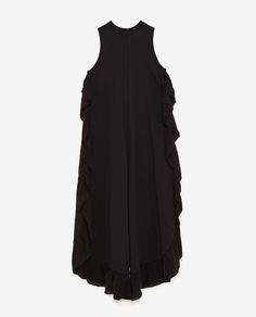 Image 8 of JUMPSUIT WITH SIDE FRILL from Zara
