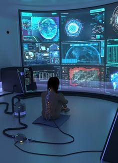 Cyberpunk Atmosphere via @missmetaverse www.futuristmm.com