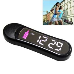[USD5.23] [EUR4.69] [GBP3.79] Multifunction 3D Pedometer LED Diplay USB Flash Disk