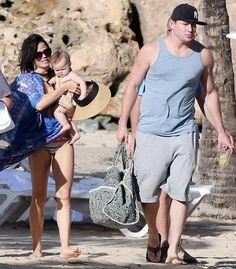Jenna Dewan & Channing Tatum...he is getting fat =(