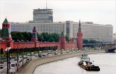 Next to Red Square in Moscow, Russia, the Rossiya Hotel is where we stayed. It had over 3,000 rooms, it has since then  been demolished.