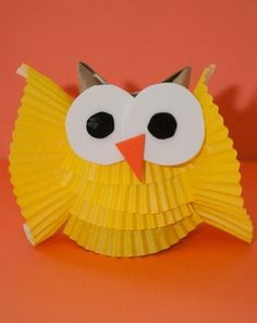 Add a bit of whimsy and wisdom to your child's desk with this sensational owl craft.