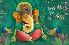 Ganesh Images, Ganesha Pictures, Lord Ganesha Paintings, Krishna Painting, Shri Ganesh, Ganesha Art, Ganpati Bappa Wallpapers, Happy Ganesh Chaturthi Images, Ganesh Wallpaper