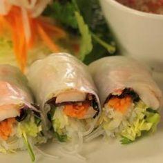 závitky Fresh Rolls, Cooking, Ethnic Recipes, Food, Kitchen, Essen, Meals, Yemek, Brewing