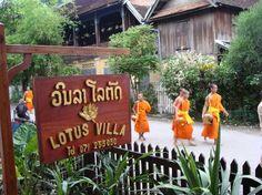 Lotus Villa. Luang Prabang, Laos. #travelconnoisseur