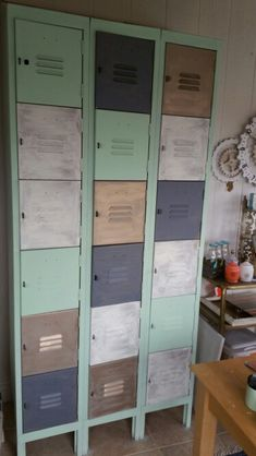 Chalk Painted Lockers                                                                                                                                                                                 More