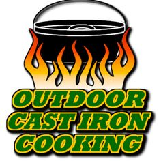 outdoor cast iron cooking (YouTube)