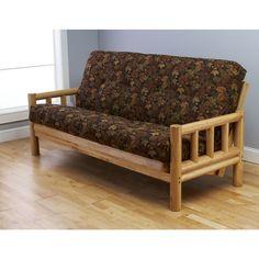 Kodiak Furniture Lodge Leaf Futon and Mattress | Quill.com