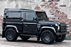 Land Rover Defender Harris Tweed Edition by Kahn Design.