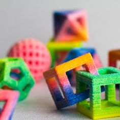 3D Printed Color. Chefjet First food 3D printer launched by 3D Systems