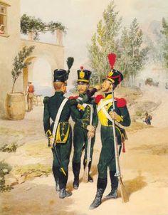 Guardie provinciali del 2 distretto militare