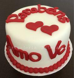 Bolo Dia dos Namorados Valentine's Day Cake