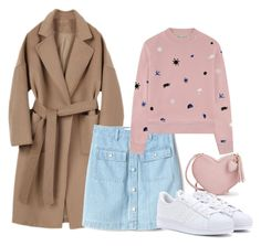 """""""Outfit #694"""" by naleland on Polyvore featuring moda, Gap, Être Cécile i adidas"""