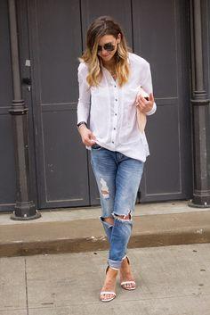 White BasicsLace TeeEasy Breezy$100 or Less Style FindsSpring StripesStyle Inspo