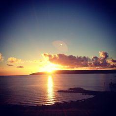 @bundaleerwiness photo: Sunrise at Emu Bay, Kangaroo Island this morning.