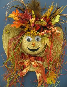 Fall Scarecrow that Patricia made