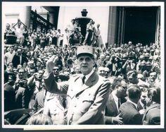 General Charles de Gaulle de Visita en Venezuela 1964