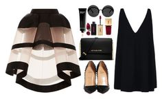 """""""Stella McCartney look"""" by imperiouspuma ❤ liked on Polyvore featuring Delpozo, STELLA McCARTNEY, Christian Louboutin, MICHAEL Michael Kors, Yves Saint Laurent, Le Specs, Bobbi Brown Cosmetics, NARS Cosmetics, women's clothing and women's fashion"""