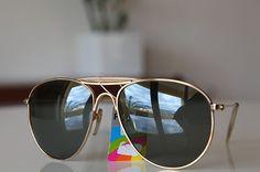 Polaroid Vintage Aviator Sunglasses Gold  Khaki  Dark Green Polarizing  lenses Novedad, Sol, 2f2ccf64bd