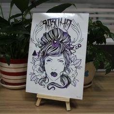 CMYK Printing Temporary Tattoo Stickers Skin Tattoo v8|MEISHI-CMYK v8|CMYK Printing Tattoo Stickers