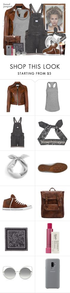 """""""~ Formal Jumpsuit ~"""" by li-lilou ❤ liked on Polyvore featuring Coach, USA Pro, Levi's, Fallon, Converse, WithChic, Rebecca Minkoff, Kiehl's, Marc Jacobs and Samsung"""