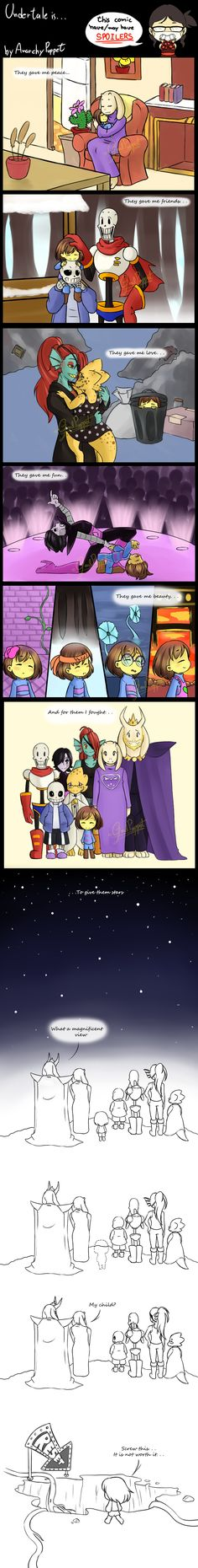Undertale is. . . by GoalPuppet on DeviantArt
