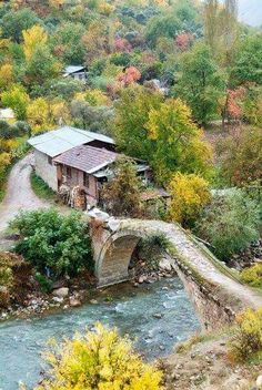 Artvin, Turkish rural area/countryside, in autumn. All Nature, Amazing Nature, Wonderful Places, Beautiful Places, Places To Travel, Places To Visit, Visit Turkey, Turkey Photos, Turkey Travel