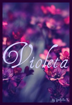 Baby Girl Name: Violeta. Meaning: In folklore the violet signifies a love that is delicate, and during Medieval times they were given as tokens of love and symbols of faithfulness. Origin: British. http://www.pinterest.com/vintagedaydream/baby-names/