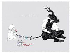 【ツℰscoria,siempre he considerado a cada ser viviente escoria. Manga Art, Anime Art, Comic Anime, Traditional Witchcraft, The Ancient Magus Bride, Illustration Art, Illustrations, Arte Obscura, Arte Horror
