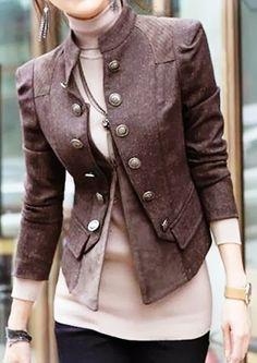 Stylish And Comfy Double Jacket