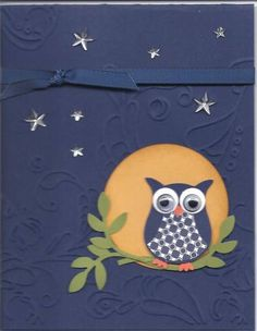 Owl Night by Karen2mire - Cards and Paper Crafts at Splitcoaststampers