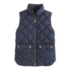 i think this is about perfect!! last years had a two way zipper…. Most Perfect!! ;) Excursion quilted vest - outerwear & blazers - Women's new arrivals - J.Crew