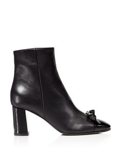 Kate Spade New York - Odelia Cap Toe Block Heel Booties