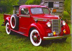 1948 Diamond T 201 Pickup Truck - One of the most beautiful trucks ever created. Farm Trucks, Diesel Trucks, Cool Trucks, Big Trucks, Classic Pickup Trucks, Classic Tractor, Vintage Auto, Vintage Trucks, Rv Hacks